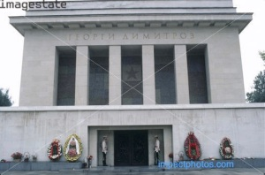 Georgi Dimitrov mausoleum